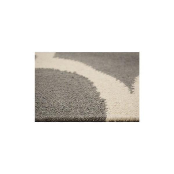 Ręcznie tkany dywan Caroline Grey, 155x240 cm