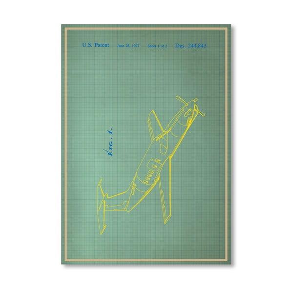 Plakat Airplane II, 30x42 cm
