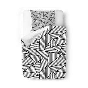 Pościel Black and White Edge, 140x200 cm