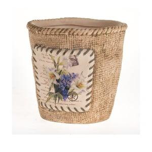 Ceramiczna doniczka Blue Flower