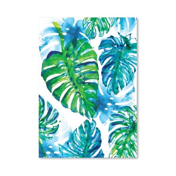 Plakat Jungle Print, 30x42 cm