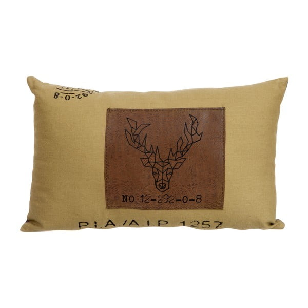 Poduszka J-Line Deer Brown, 40x25 cm