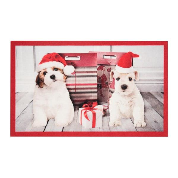 Wycieraczka Hans Home Christmas Dogs, 45x75 cm