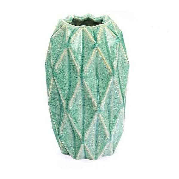Ceramiczny wazon Light Green, 23 cm