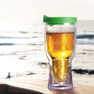 Niezniszczalny kufel Brew2Go, zielony
