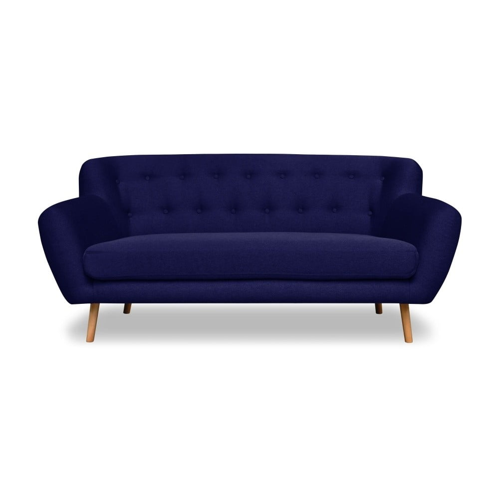 Granatowa sofa 2-osobowa Cosmopolitan design London