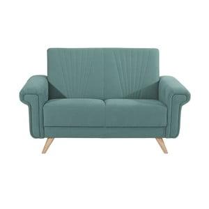 Niebieska sofa dwuosobowa Max Winzer Jannes