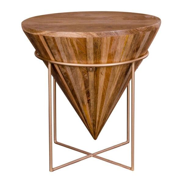 Stolik z drewna mangowego House Nordic Hapur