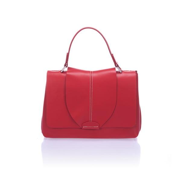 Czerwona torebka skórzana  Giorgio Costa Mijoria