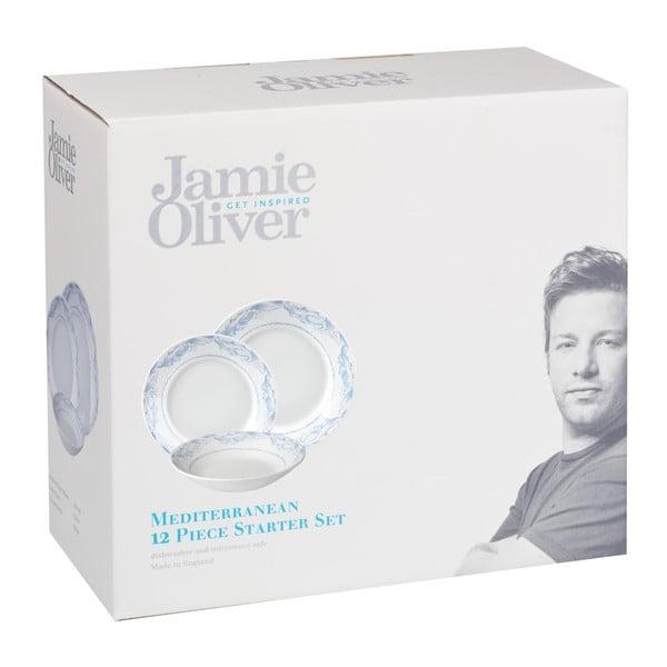 Zestaw 12 talerzy Mediterranean Jamie Oliver
