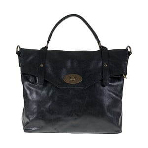 Czarna torebka skórzana Giulia Bags Alisha
