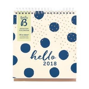 Kalendarz stołowy Busy B Fashion 2018