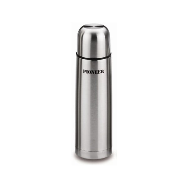 Srebrny termos Pioneer Vacuum, 1 l