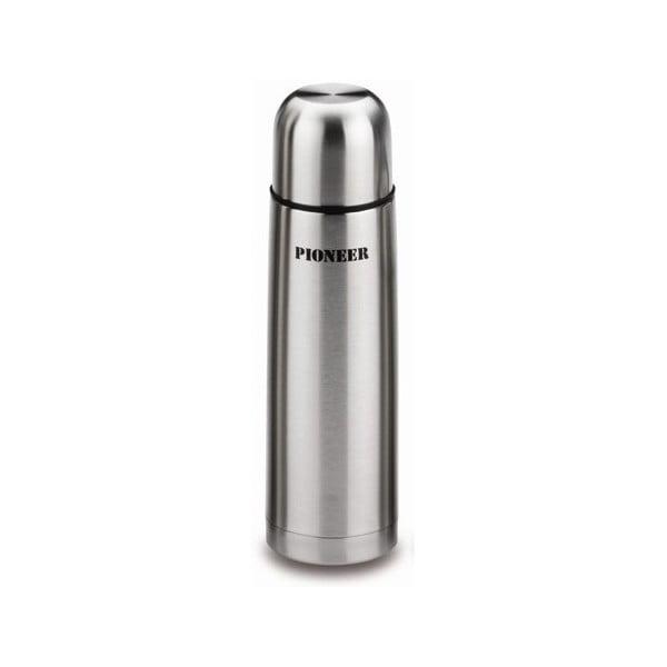 Srebrny termos Pioneer Vacuum, 500 ml