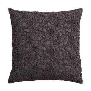Poduszka Lace Charcoal, 45x45 cm