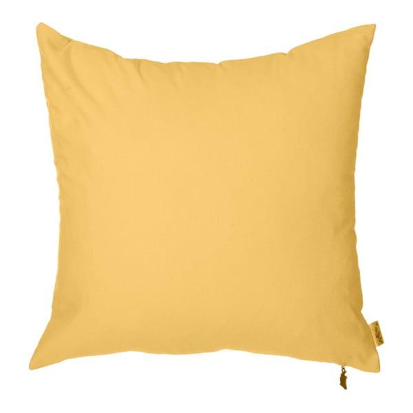 Poszewka na poduszkę Denise 40x40 cm, żółta