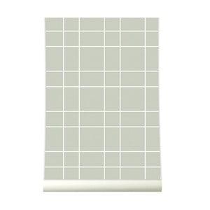 Tapeta Grid Warm Grey
