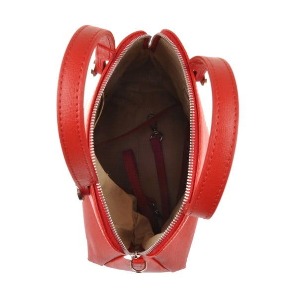 Skórzana torebka Yutz, czerwona