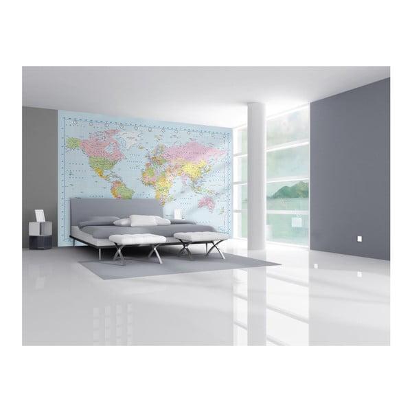 Tapeta Map Murals, 315x232 cm