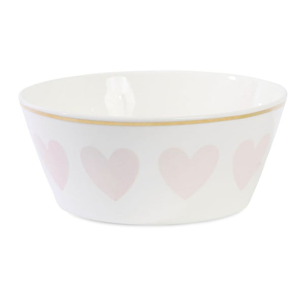 Miska ceramiczna Étoile Heart Rose