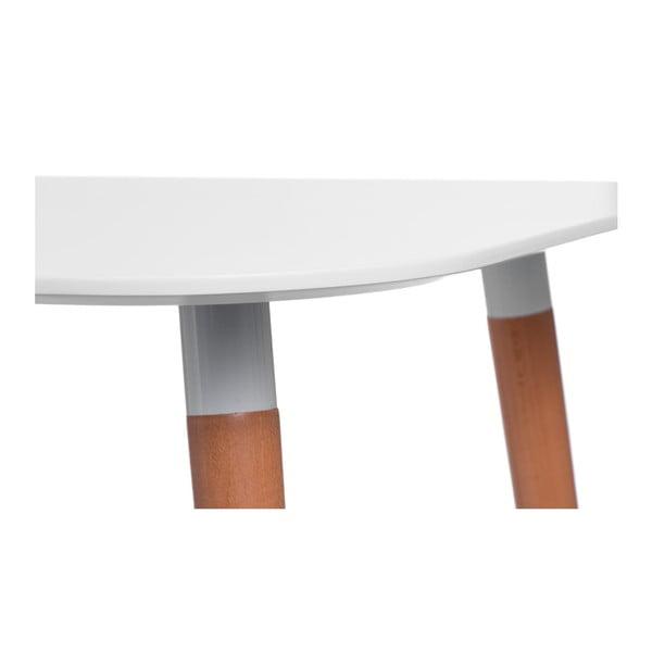 Stół D2 Copine, 100x100 cm, biały