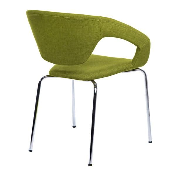 Zestaw 2 krzeseł D2 Space, tapicerowane, zielone