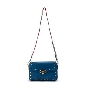 Niebieska   torebka skórzana Roberta M Slay
