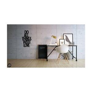 Naklejka na ścianę Dekosign Do All Thing With Love
