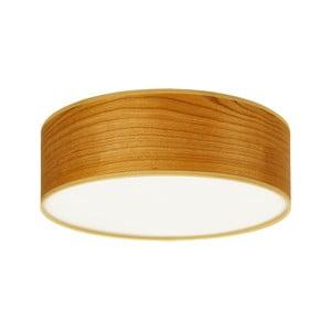 Lampa sufitowa w kolorze drewna wiśni Sotto Luce TSURI, Ø 30 cm