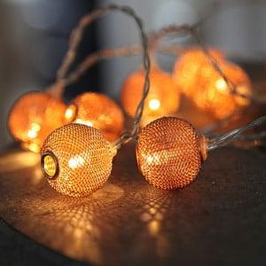 Girlanda świetlna w kolorze miedzi Best Season Wire, 135 cm