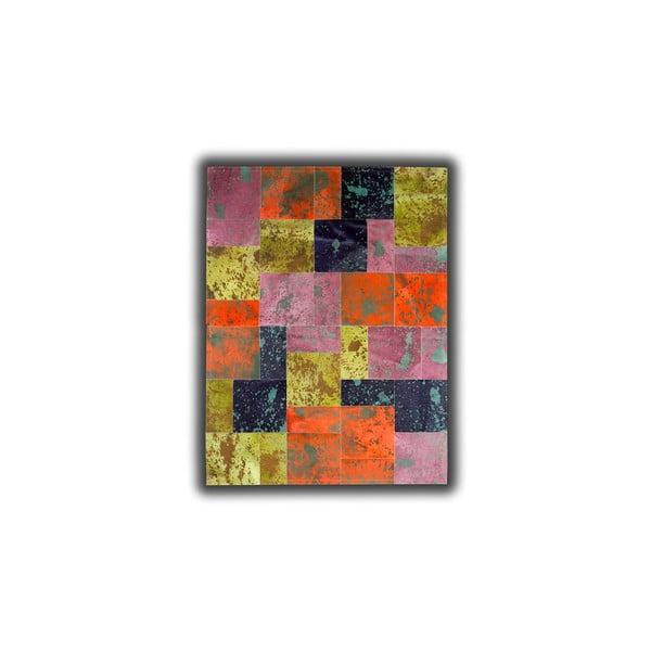 Dywan szkórzany Acid Color, 140x200 cm