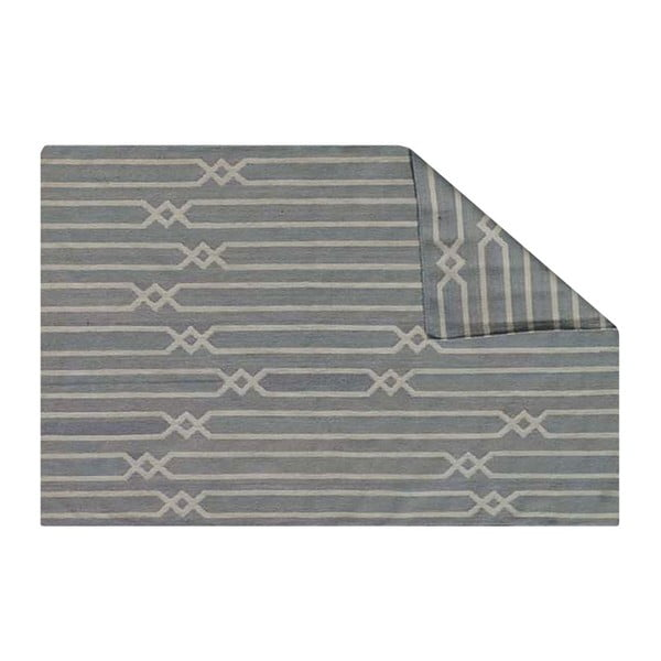 Ręcznie tkany dywan Kilim JP 11179 Grey, 60x100 cm