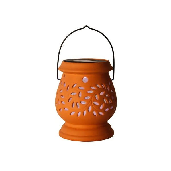 Lampion ogrodowy LED Clay Terracotta