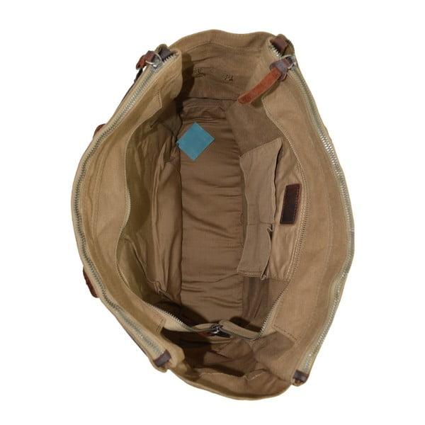 Beżowa skórzana torebka Juliet