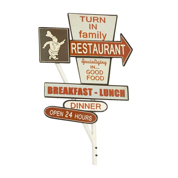 Tablica ścienna Reclame Restaurant
