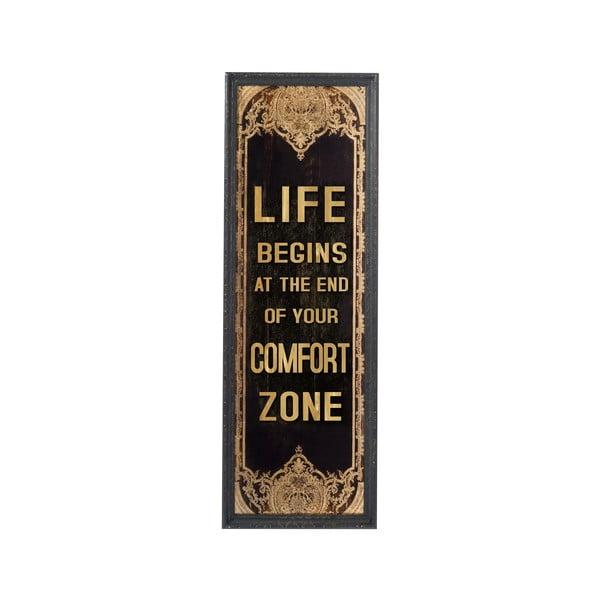 Obraz Comfort Zone, 125x42 cm