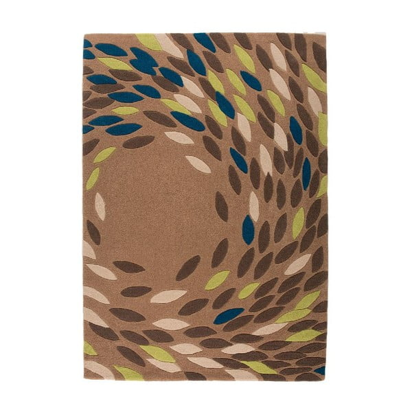 Dywan Flair Rugs Swirl Teal/Green, 160x230 cm