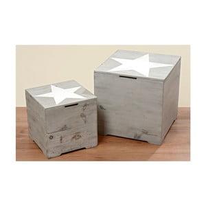 Komplet 2 pudełek Trunk Srats