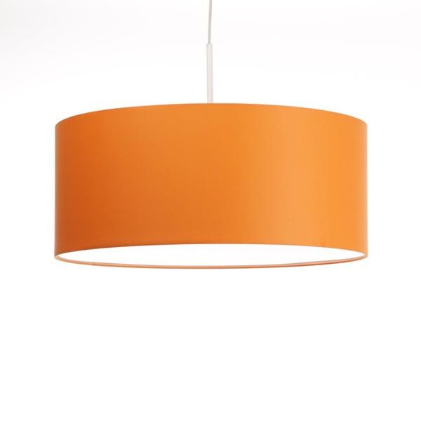 Pomarańczowa lampa wisząca 4room Artist, zmienna długość, Ø 60 cm