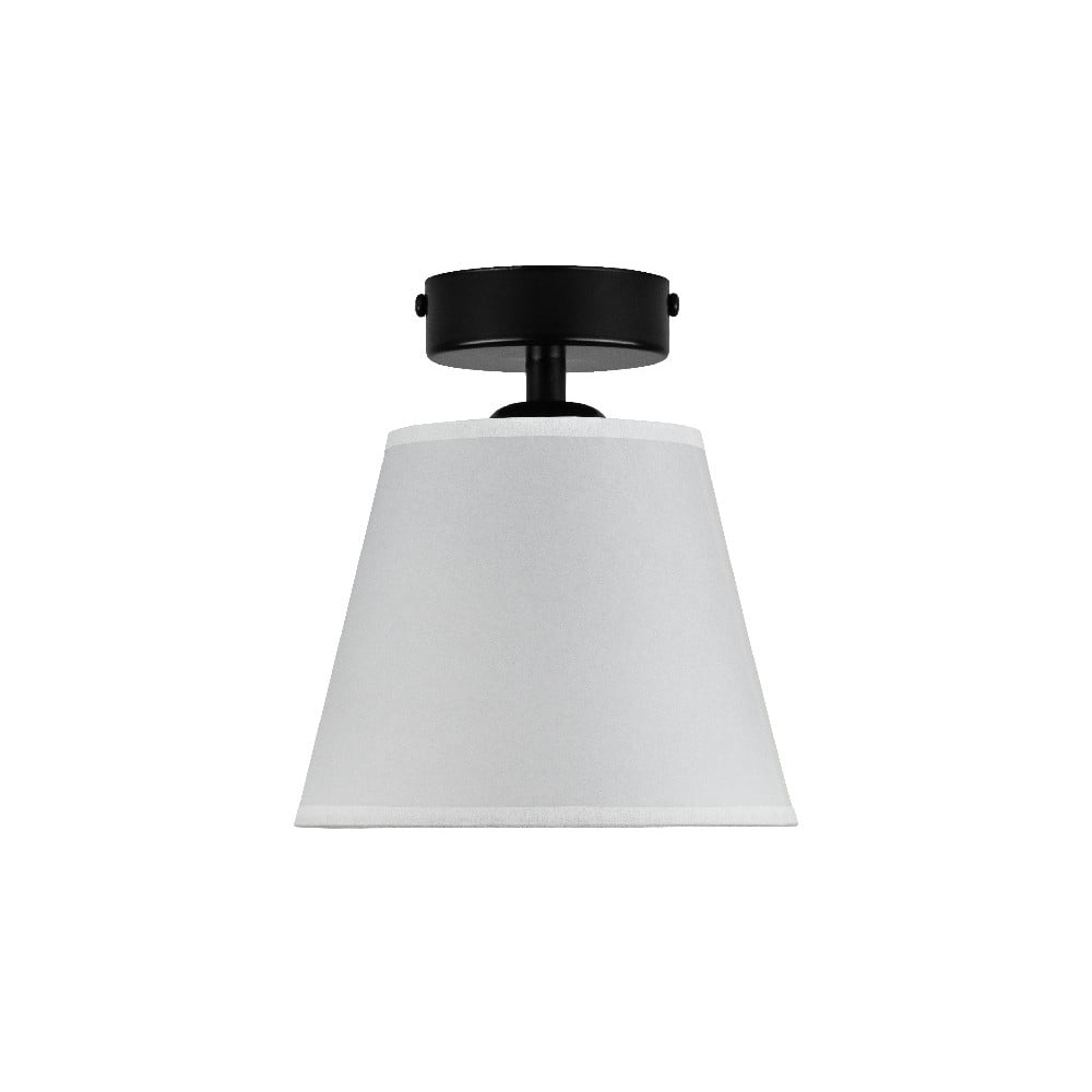 Biała lampa sufitowa Sotto Luce IRO Parchment, ⌀ 16 cm