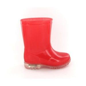 Czerwone kalosze dziecięce Ambiance Kid Rain Boots, rozm. 28