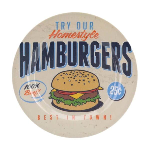 Zestaw naczyń turystycznych Hamburgers, 6 szt.
