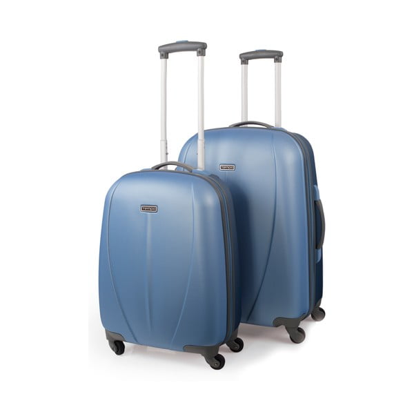 Zestaw 2 walizek Tempo, jasnoniebieski