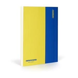 Notes FANTASTICPAPER XL Lemon/Blue, gładki