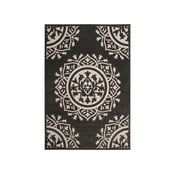 Czarno-kremowy dywan na zewnątrz Safavieh Delancy, 160x231 cm