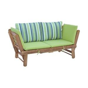 Rozkładana ławka ogrodowa z drewna akacjowego SOB Garden
