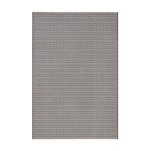 Czarno-biały dywan nadający się na zewnątrz Hanse Home Meadow, 140 x 200 cm