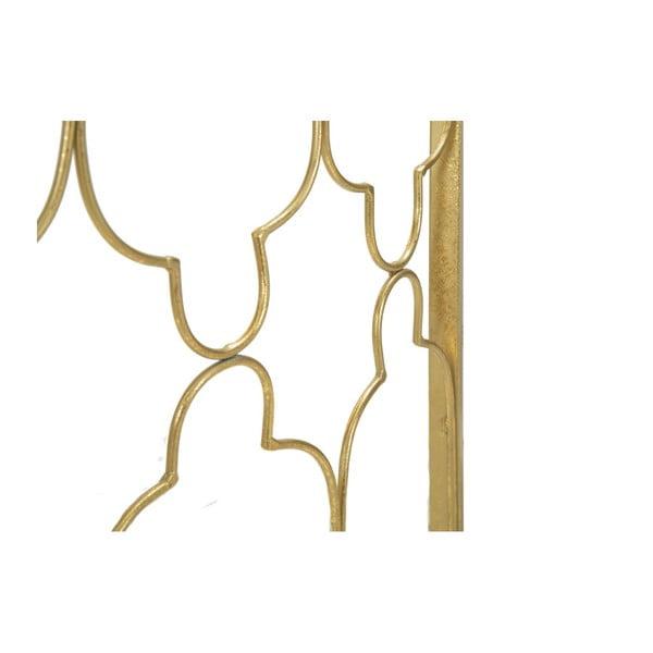 Zestaw 2 konsoli z konstrukcją w złotej barwie Mauro Ferretti Balconette