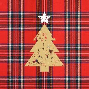 Opakowanie 20 serwetek papierowych ze świątecznym motywem PPD Tartan Tree Red