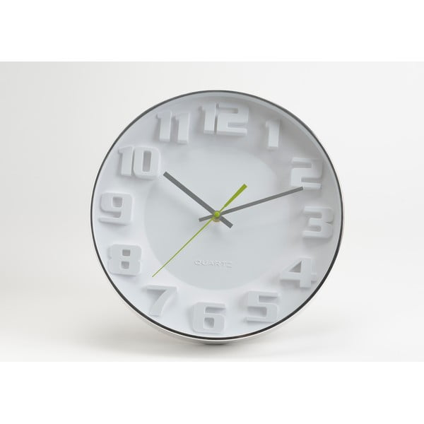 Zegar White Modern, 35 cm